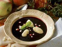 Elderberry Soup with Dumplings recipe