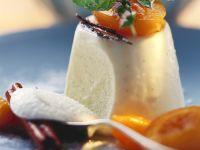Elderflower Cream with Roasted Apricots recipe