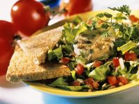 Endive and Goat Cheese Salads recipe