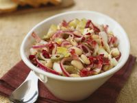 Endive and White Bean Salad with Radicchio and Olives recipe
