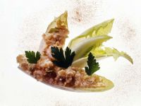 Endive Leaves with Cream Cheese recipe