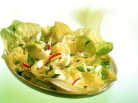 Endive, Radish and Wild Garlic Salad recipe