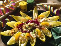 Endive Salad Cups with Celeriac and Apple recipe