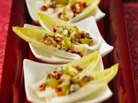 Endive Salad with Pear, Cheese and Walnuts