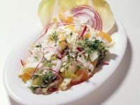Endive Salad with Yogurt Dressing