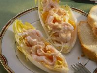 Endives Stuffed with Shrimp Cocktail recipe