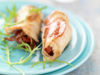 Escalope Wraps with Filling recipe