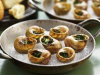 Escargot with Herb Butter and Parsley