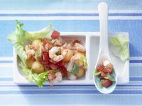 Escarole-Melon Salad recipe