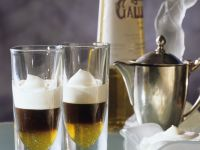 Espresso with Whipped Cream and Galliano recipe