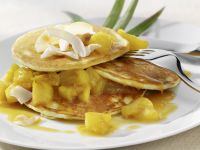 Exotic Crepes with Fruit Jam recipe