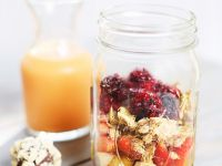 Exotic Fruit and Oat Jars recipe