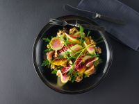 Exotic Winter Salad with Watermelon Radishes recipe