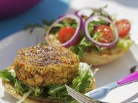 Falafal Burger recipe