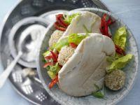 Falafel Pita Pockets recipe