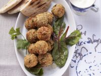 Falafel with Apricot Sauce recipe