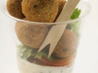 Falafel's with Sauce recipe