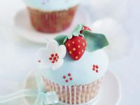 Fancy Berry and Flower Cakes recipe
