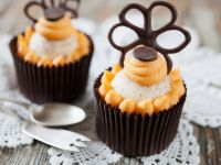Fancy Orange Cupcakes recipe