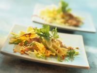 Farfalle Salad with Peanut Dressing recipe