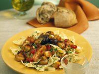 Farfalle with Mediterranean Vegetable Ragout recipe