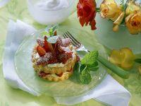 Fast Strawberry Cream Cake recipe
