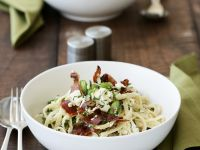 Fava and Herb Pasta Bowl