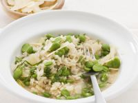 Fava Bean Rice Dish recipe