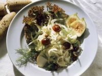 Fennel and Apple Salad with Grapes and Figs recipe