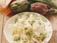 Fennel and Artichoke Salad recipe