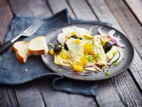 Fennel and Orange Salad with Olives recipe