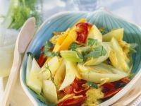 Fennel Curry with Pumpkin and Peppers recipe