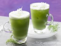 Fennel Lamb's Lettuce Juice recipe