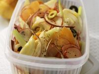 Fennel Salad with Carrots, Onions and Radishes recipe