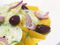 Fennel Salad with Oranges and Olives recipe