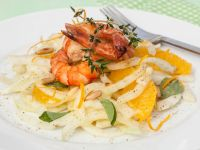 Fennel Salad with Shrimp and Orange recipe