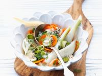 Fennel with Carrots and Yogurt recipe