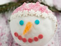 Festive Cakes with Face Decoration recipe