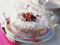 Festive Chocolate and Coconut Cake recipe