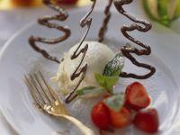 Festive Chocolate Christmas Tree Dessert recipe