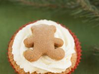 Festive Ginger Teddy Cakes recipe