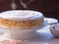 Festive Healthy Almond Cake recipe