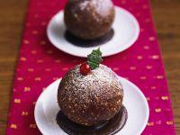 Festive Pudding Spheres recipe