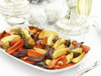 Festive Roast Veg recipe