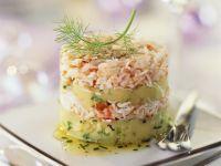 Festive Seafood Tian recipe