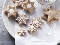 Festive Star Cookies with Cinnamon recipe