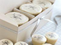 Festive White Cupcakes recipe