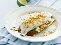 Feta and Crumb-Topped Baked Fish Fillets recipe