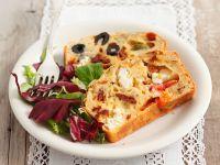 Feta and Olive Bread recipe