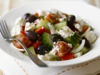 Feta and Olive Salad Bowl recipe